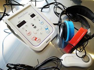 オージオメータ(聴力計)